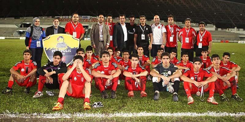 پیروزی پر گل نوجوانان پرسپوليس در اردوی گیلان