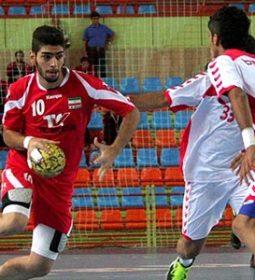 همگروهی ایران با عراق و ژاپن در هندبال قهرمانی آسیا