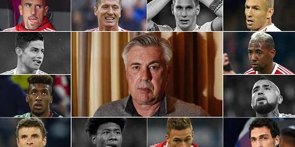 انتشار نام 5 بازیکنی که به آنچلوتی خیانت کردند