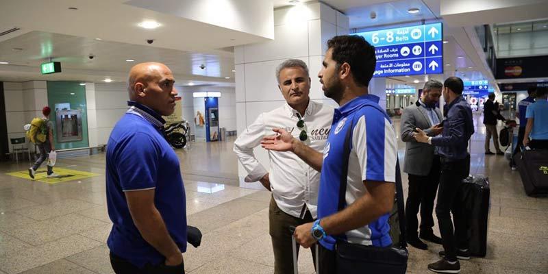 کاروان تیم فوتبال استقلال روز دوشنبه تهران را به مقصد ایروان ترک کرد